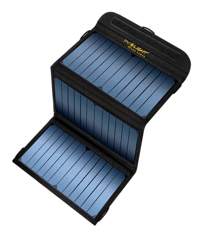 CASE  E-209 3 PLACAS SOLARES  20W - PV LIGHT