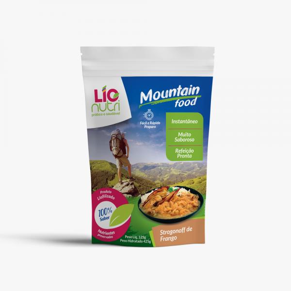 Comida Liofilizada Strogonoff de Frango -  Lionutri