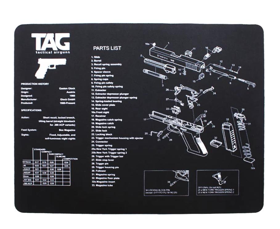 Esteira para limpeza de armas Gunmat TAG
