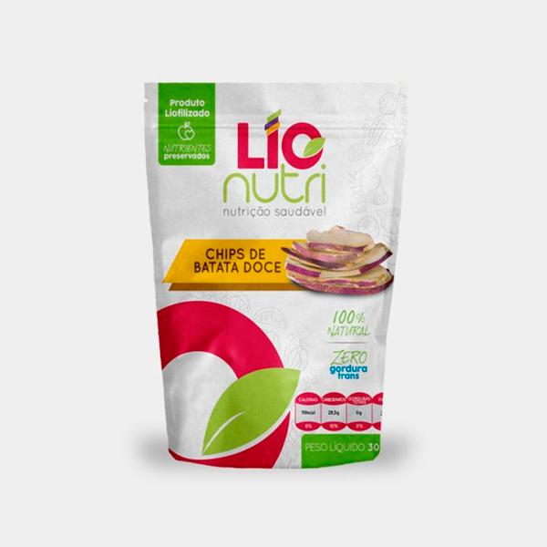 Comida Liofilizada Chips de Batata Doce -  Lionutri