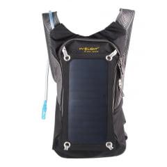 Mochila Solar SP 6.5 W/5 V + bolsa de hidratação - PV LIGHT