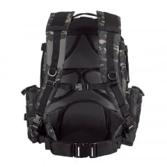 MOCHILA TÁTICA DEFENDER MULTICAM BLACK - INVICTUS