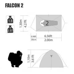 BARRACA FALCON 2  - NTK