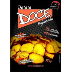 COMIDA LIOFILIZADA CHIPS DE BATATA DOCE LIOFOODS