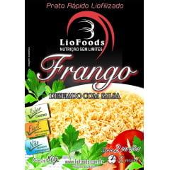 COMIDA LIOFILIZADA FRANGO DESFIADO COM SALSA LIOFOODS