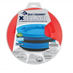 PRATO E COPO DOBRÁVEL X-SEAL & GO SEA TO SUMMIT