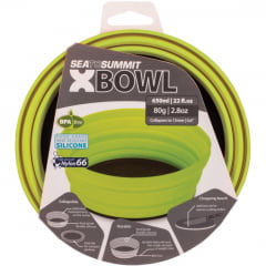 TIGELA DE SILICONE X-BOWL VERDE - SEA TO SUMMIT