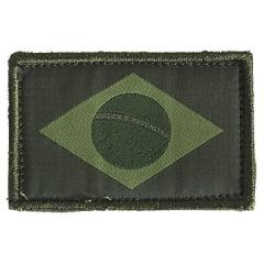 PATCH BANDEIRA DO BRASIL VERDE- WTC