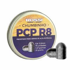 Chumbinho PCP R8 5,5mm 75 unid Rossi