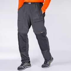 CALÇA BERMUDA PRO MOUNTAIN MASCULINA GRAFITE - HARD  ADVENTURE